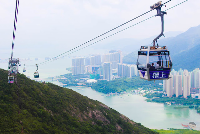 Ngong Ping 360's Cable Car in Hong Kong