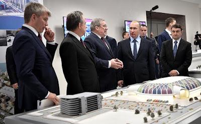 Vladimir Putin, Krasnoyarsk.