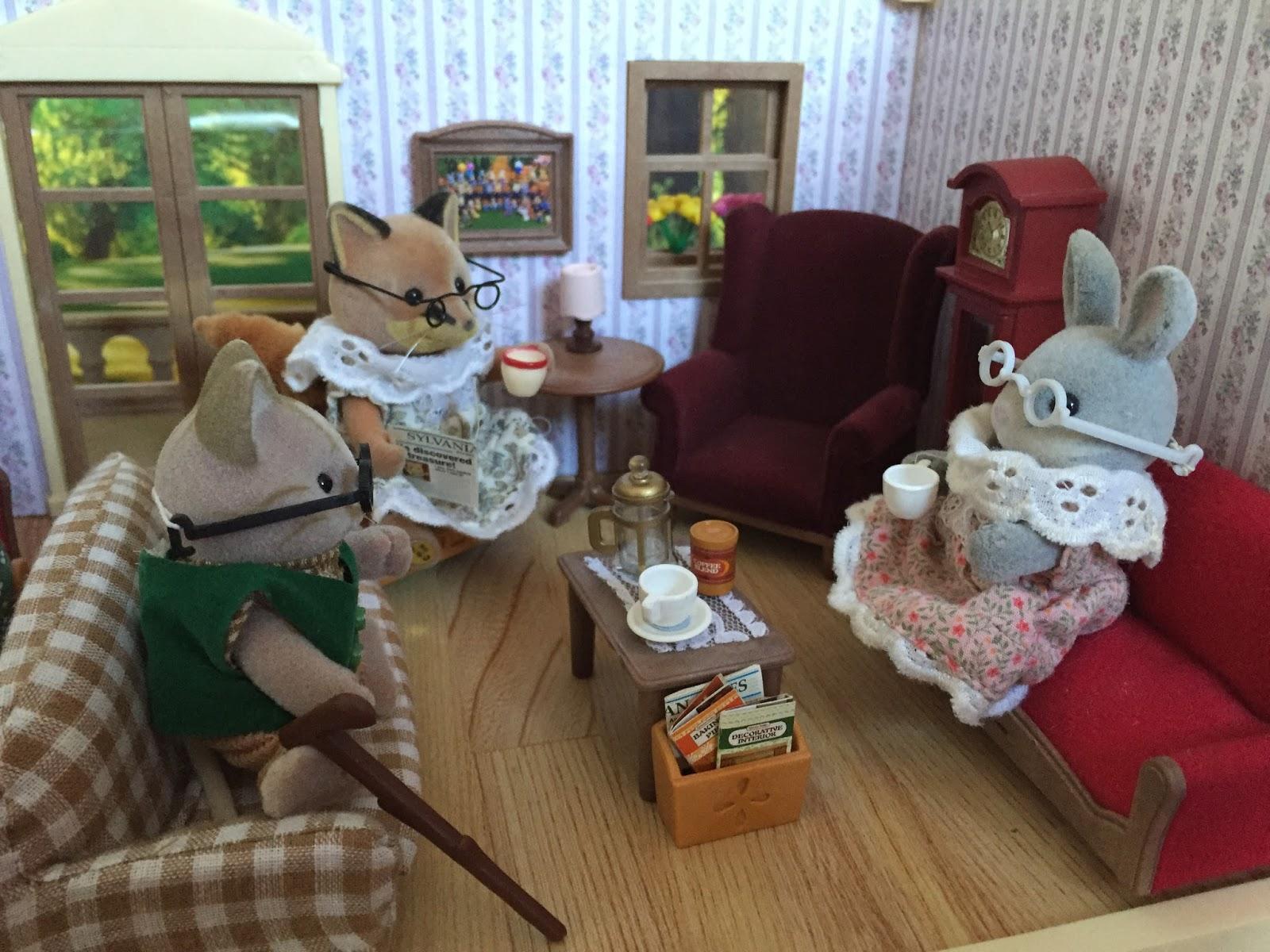 Sylvanian Families Country Living Room Set Toysrus Babiesrus   Swivel  Classy Sylvanian Families Living Room Set