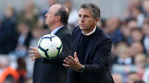 Claude Puel thất vọng trước trận thua với Arsenal