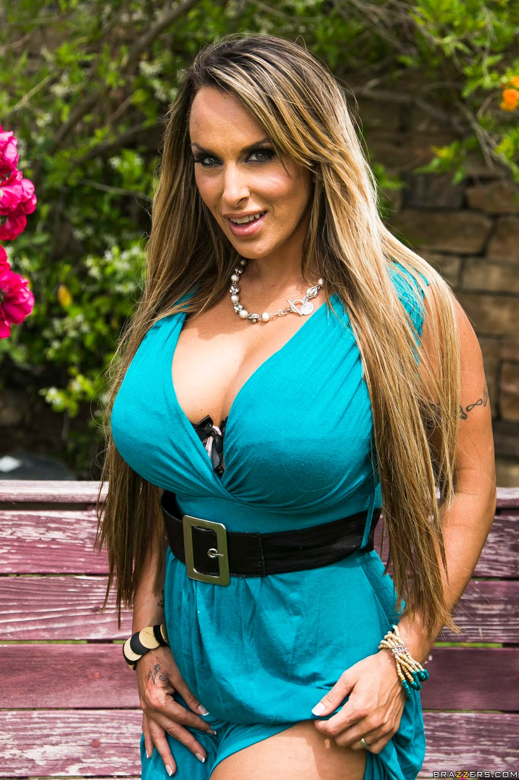 Holly Halston : Ribbon Cunting Ceremony ## BRAZZERS