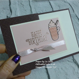Hug in a Mug meets Happy Birthday Gorgeous Stampin Up