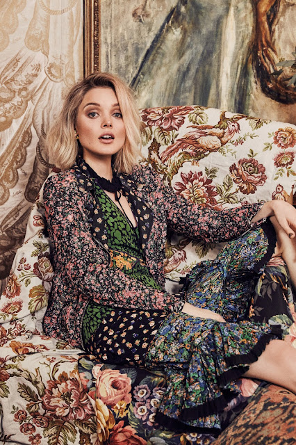 Actress, @ Bella Heathcote - Olivia Malone Photoshoot for Who What Wear February 2016