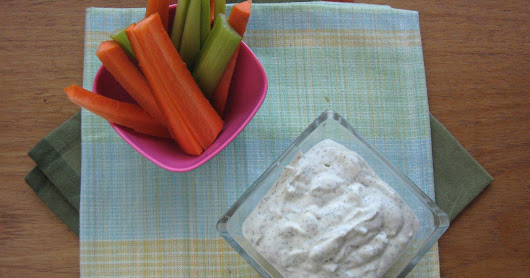 "Tofu ""Sour Cream"" Dip for One"