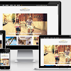 Responsive View of Simplegant Blogger Template