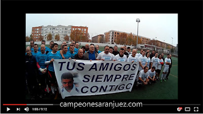 Fútbol Aranjuez - Homenaje a Juanan