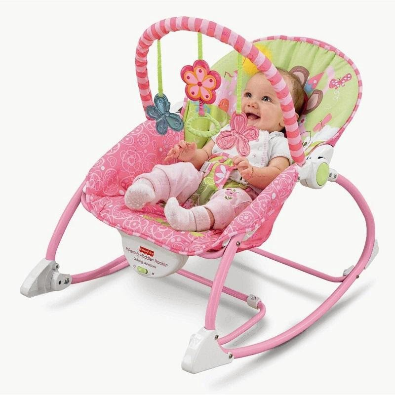 Fisher-Price Infant-to-Toddler Rocker (Pink)