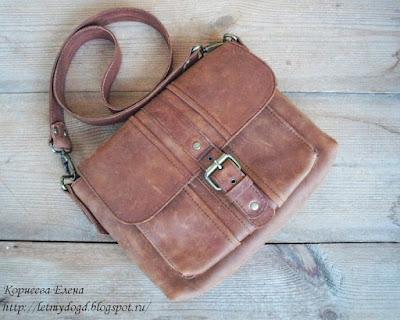 сумка кожаная женская Casual