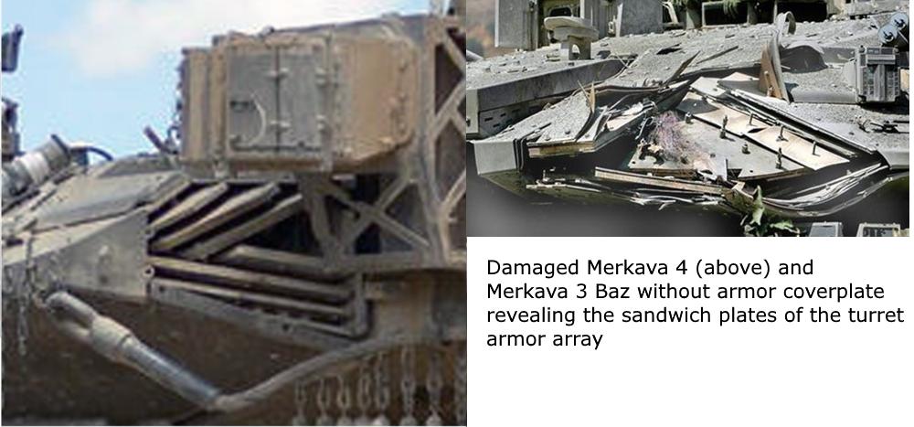 المزيد من الحيل السورية لحماية دبابات النظام !! MerkavaChobham