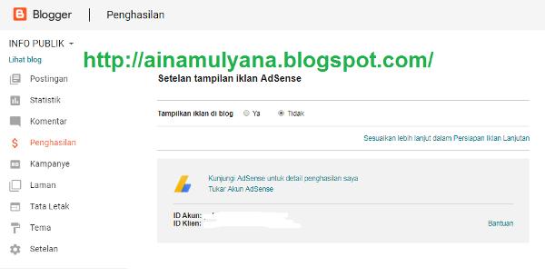 Cara Mudah Daftar Dan Pasang Iklan Google Adsense Di Blog Pendidikan Kewarganegaraan Pendidikan Kewarganegaraan