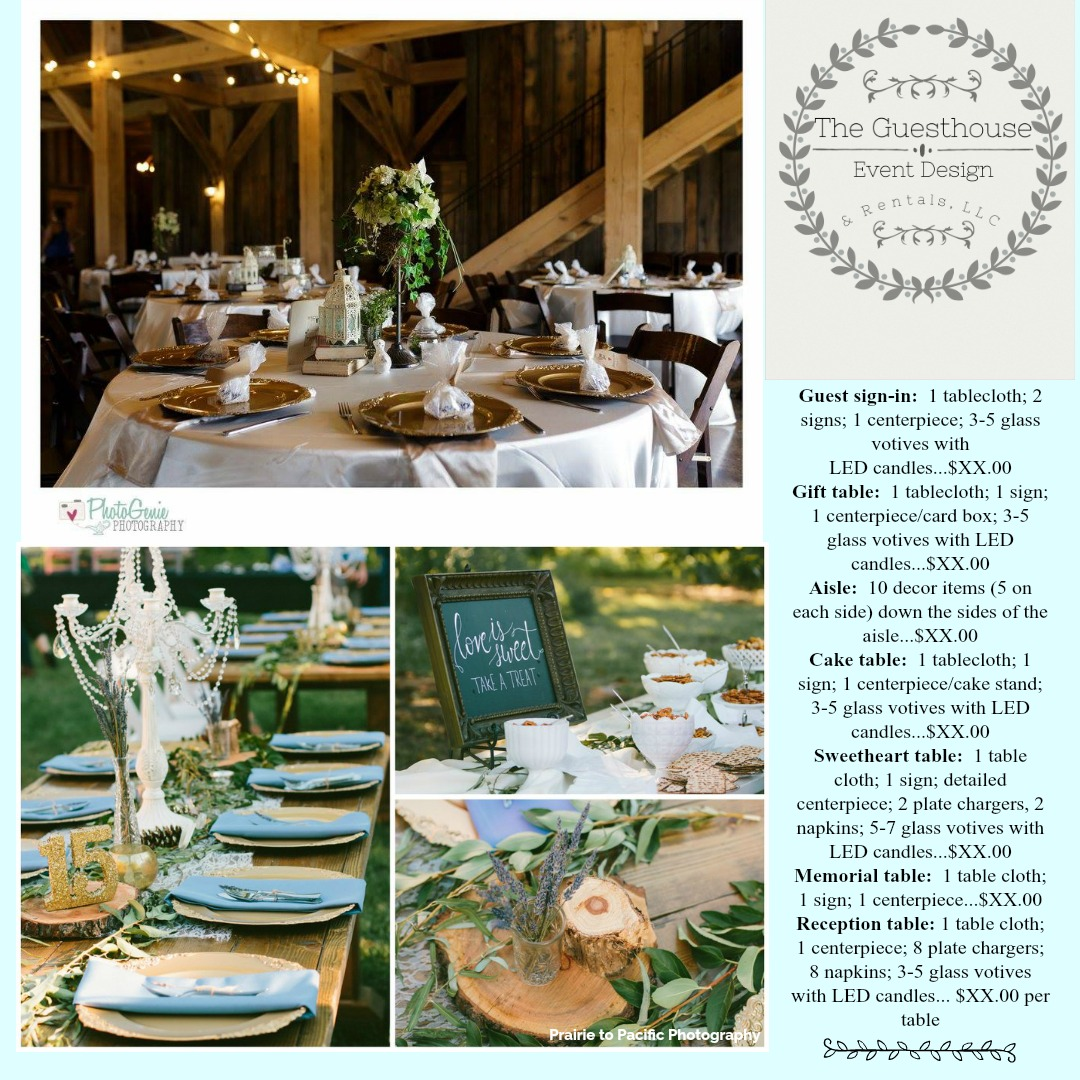 The Guesthouse Event Design Rentals Llc 417 224 2356 Call And