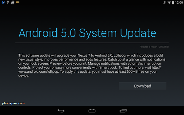 Latest Android Updates