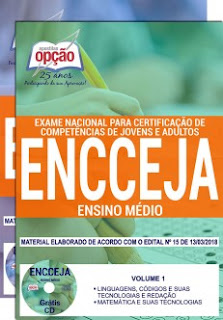 Apostila Exame Encceja Nacional 2018 Ensino Médio
