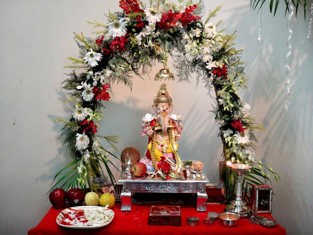 Ganesh Chaturthi Decoration Ideas 2016 Home Murti