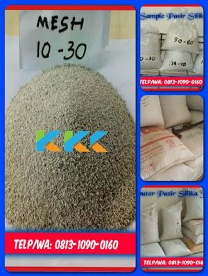 Pasir Silika Bangka Mesh 10-30 Kemasan 50 Kg