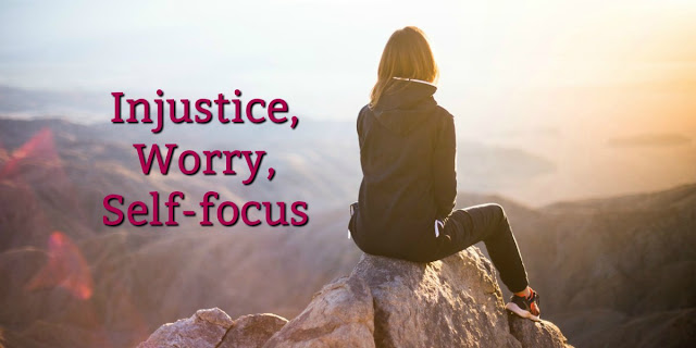 Injustice, Worry, and Selfishness can steal our peace. Scripture offers advice.