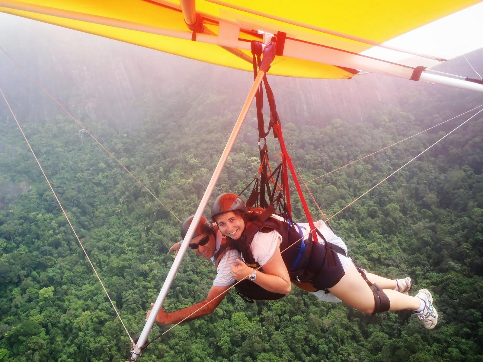 Hang Gliding over Tijuca National Park Rio de Janeiro