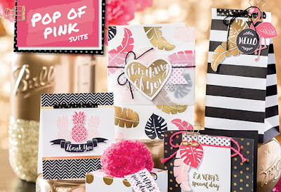 #IFoundAFlamingo A Fashionable Flamingo in the Pop Of Pink Suite by Stampin' Up! UK - buy Stampin' Up! here