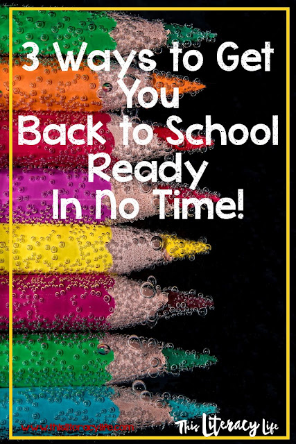 These simple ways to get ready to go back to school will have you moving in the right direction in no time!