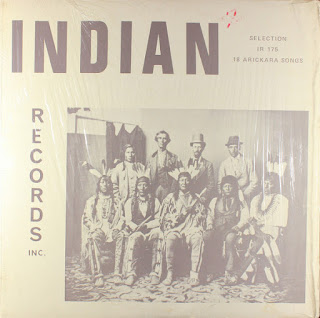 18 Arickara Songs, Indian Records