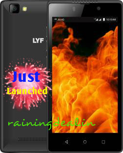 LYF FLAME 8 + JIO Preview Offer (3 Months Free 4G data) Rs 4199 Flipkart