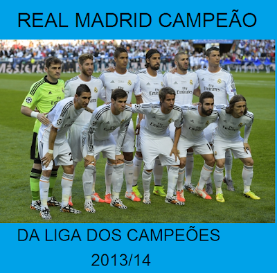 "Real Madrid Campeão Champions League 2014/14 - "" La Decima """