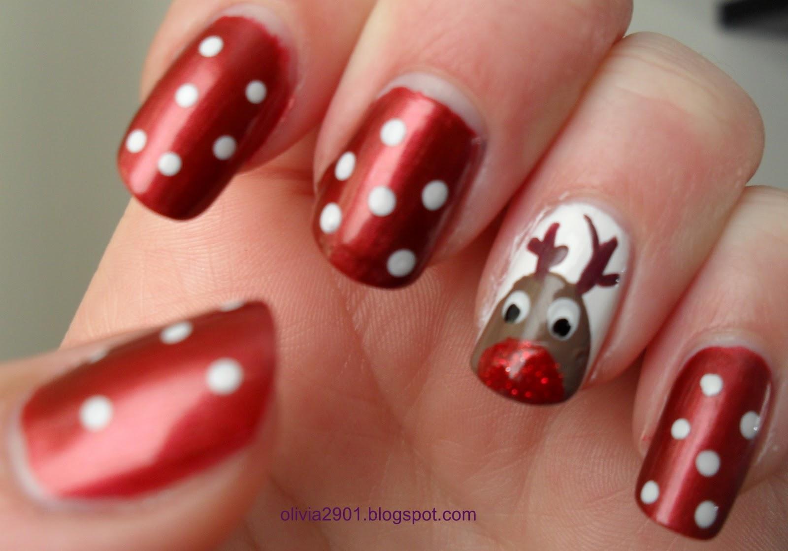 Christmas Nails Designs - Pccala