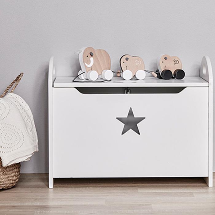 Kista Star la cassapanca portagiochi in vendita presso Kid's Concep