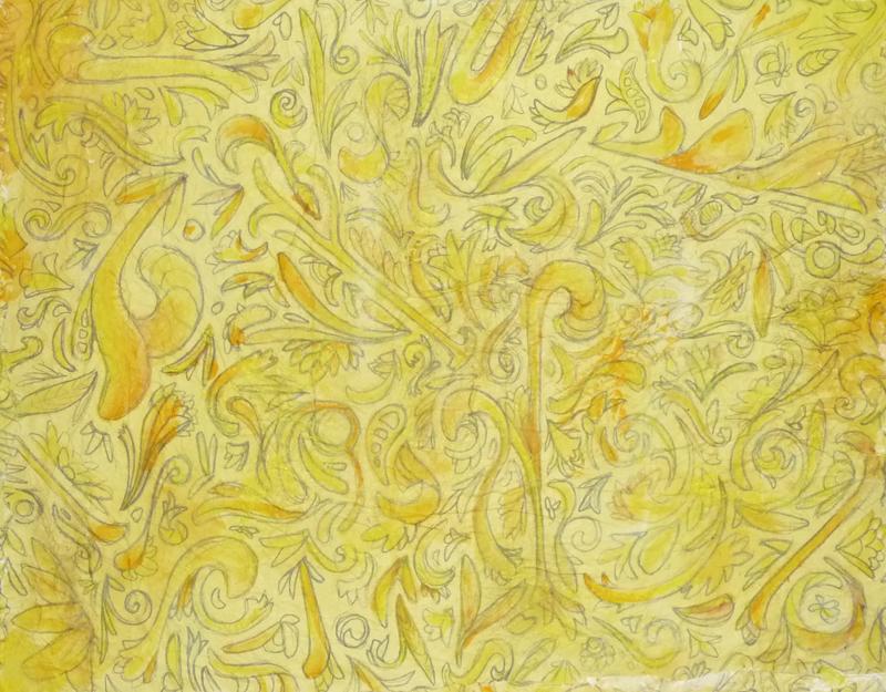 The Yellow Wallpaper - Day 1: calico_pye