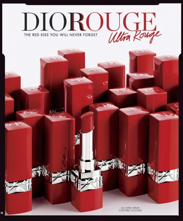 Dior Rouge Ultra Rouge Pigmented Hydra Lipstick