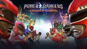 تحميل اللعبة الشهيرة Power Rangers: Legacy Wars مهكرة كاملة