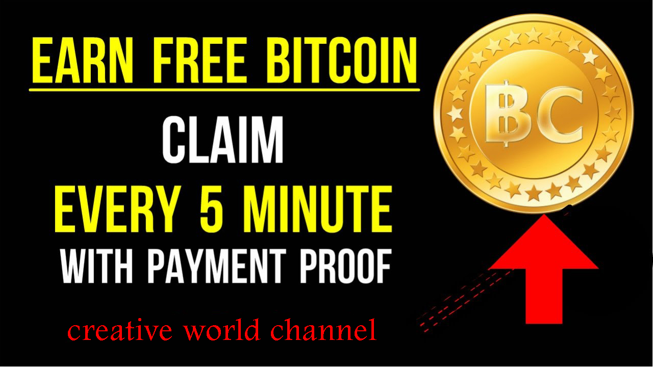Creative World: Earn Bitcoins by visiting sites