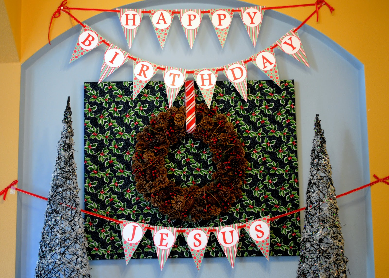sweet metel moments free printable happy birthday jesus banner