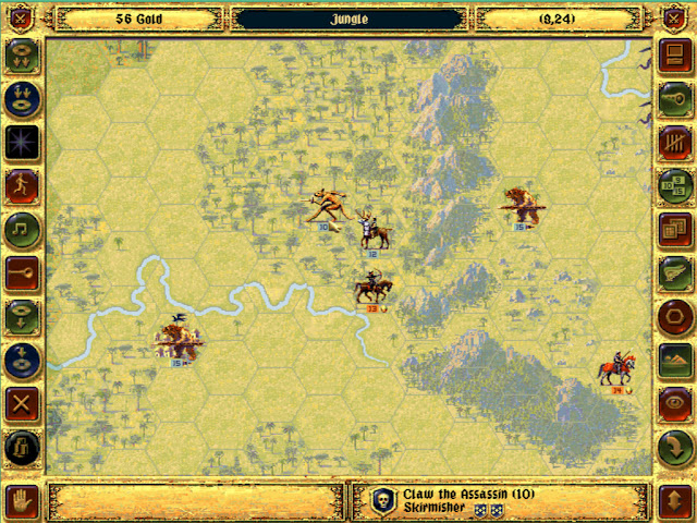 Claw the Assassin Rival Hero | Fantasy General Screenshot