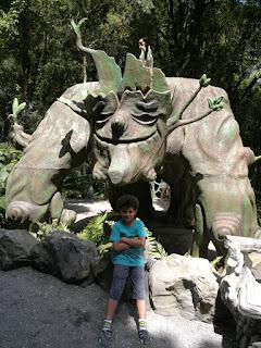 Parque Florybal, em Gramado