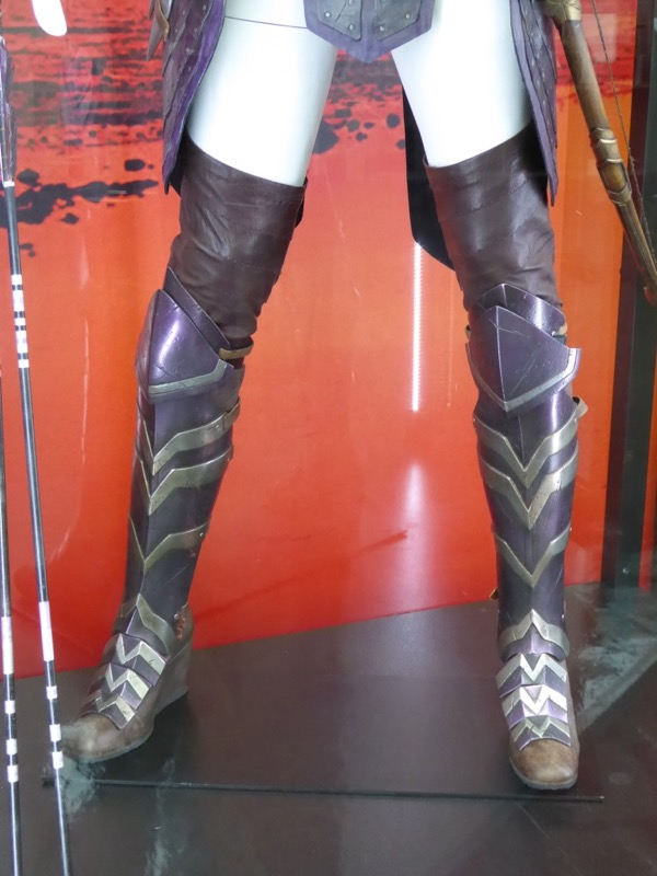 Wonder Woman Antiope costume boots