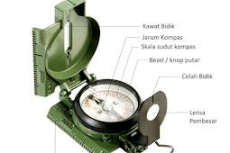 Mengenal Kompas dan Cara Menggunakannya Untuk Navigasi Darat