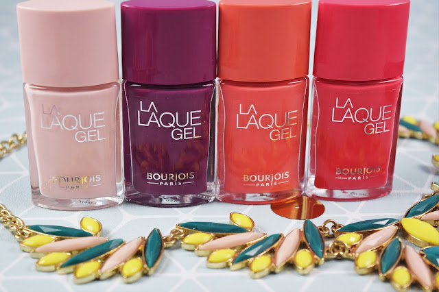 Bourjois Summer 2016 La Laque Gel