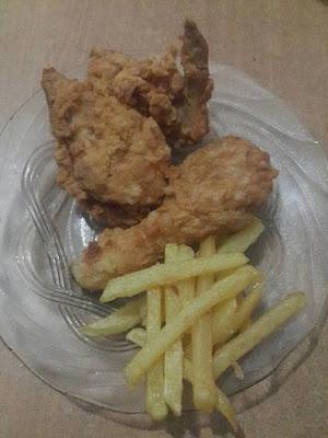 Resep Ayam Goreng Krispi Ala KFC