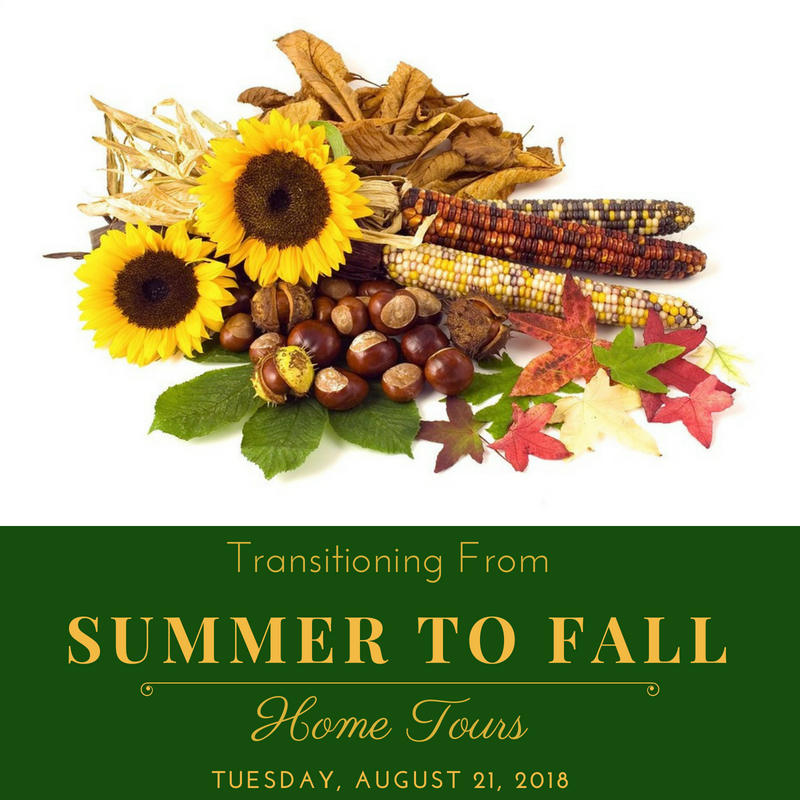 Summer To Fall Home Tours