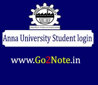 Coe1.annauniv.edu home student login