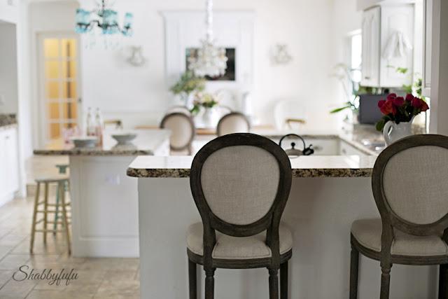 white french style kitchen