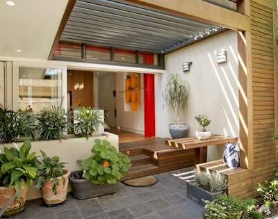 Contoh Model Teras Rumah Minimalis Yang Memukau