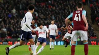 Tottenham Hotspur vs West Ham United Imbang 1-1