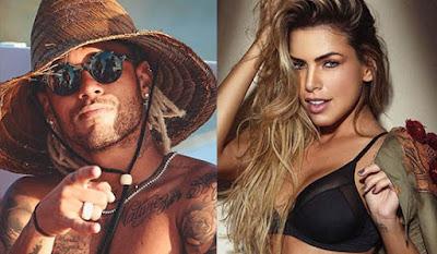 """Após Réveillon juntos na Bahia, Neymar comenta em foto de bailarina do Faustão: """"Saudades"""""""