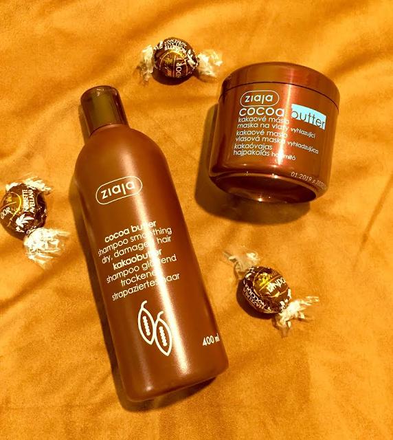 Ziaja vlasová línia s kakaovým maslom