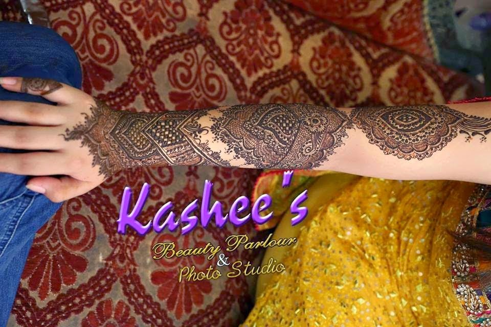 Latest And Stylish Mehndi Designs For Young Brides By