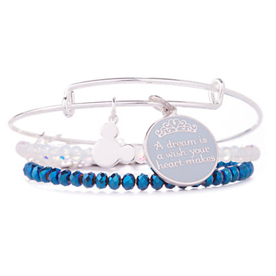 Cinderella ''A Dream is a Wish . . .'' Bangle Set by Alex and Ani, Holiday Gift Guide for Disney Moms