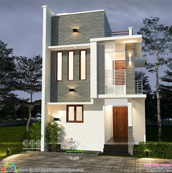 Compact home in low budget