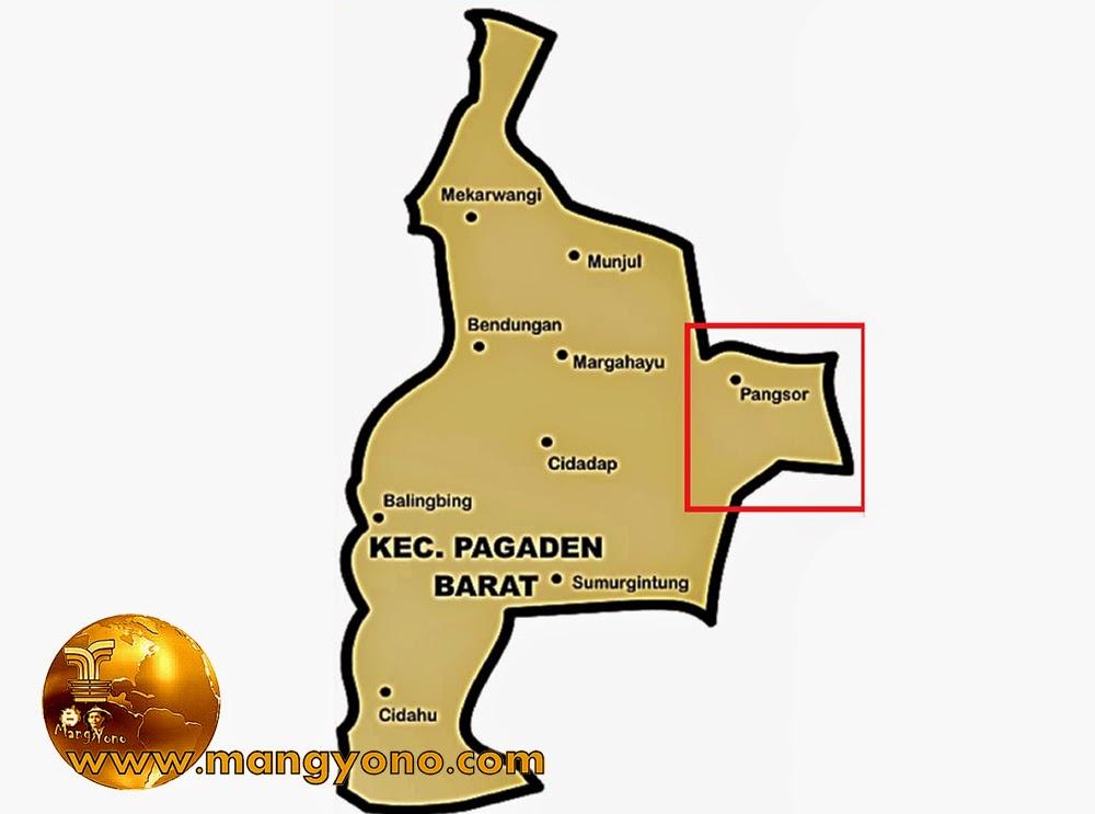 Desa Pangsor, Kecamatan Pagaden Barat